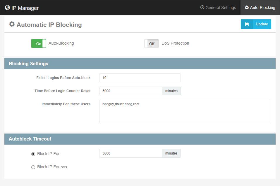 Automatic IP Blocking – Cerberus Support